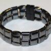 Magnetic Hematite 4 Way Bracelet - Black