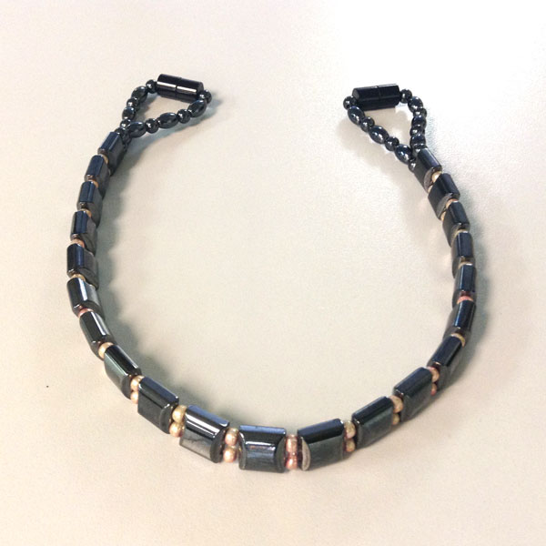 Magnetic Hematite Horse Brow Band